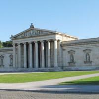 Voorgevel van de Staatliche Antikensammlung