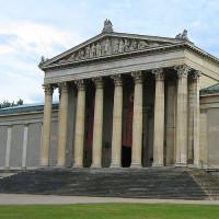 Zuilen van de Staatliche Antikensammlung