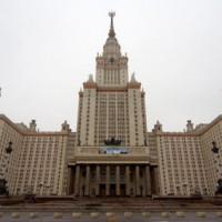 Aan de Staatsuniversiteit van Moskou