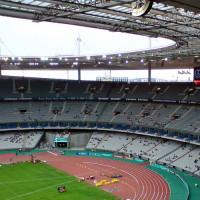 Binnen in het Stade de France