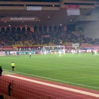 Wedstrijd in het Stade Louis II