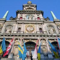 Voorgevel van het Stadhuis
