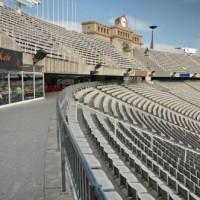 Tribune van het Olympisch Stadion