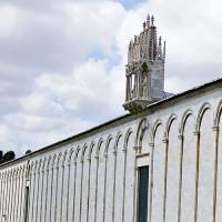Lengte van de Stadsmuren van Pisa