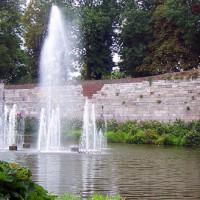 Fontein in het Stadspark Maastricht
