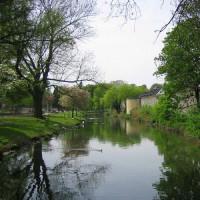 Vijver in het Stadspark Maastricht