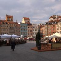 Terrassen van de Stare Miasto
