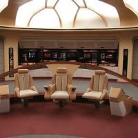 Binnen in de Enterprise