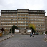Zicht op het Stasimuseum