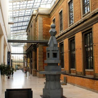 Binnen in het Statens Museum for Kunst