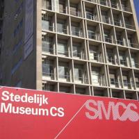 Het Postgebouw ten tijde van het Stedelijk Museum