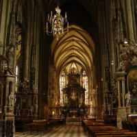 Interieur van de Stephansdom