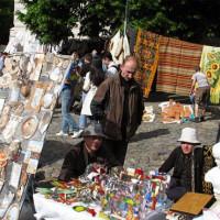 Rommelmarkt op de Andreevsky Spusk