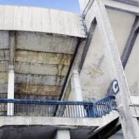 Detail van het Strahovstadion