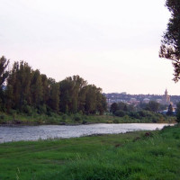 Vergezicht op Praag