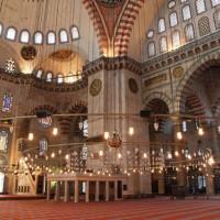 Gebedsvloer van de Süleymaniye Moskee