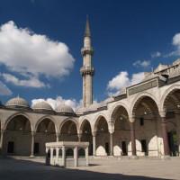 Minaret van de Süleymaniye Moskee
