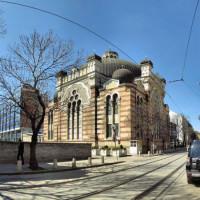 Overzicht op de Sofia Synagogue