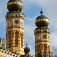 Torens op de grote synagoge