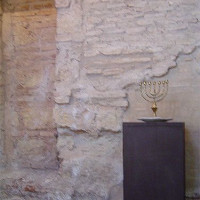 Menora in de Sinagoga de Córdoba