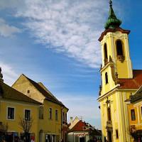 Straatbeeld in Szentendre