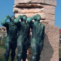 Soldatenbeelden in het Szoborpark