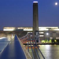 Zicht op het Tate Modern