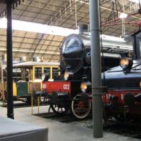 Treinstellen in het Wetenschaps- en Technologiemuseum