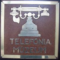 Naambord van het Telefoonmuseum