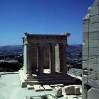 Totaalbeeld van de Tempel van Athena-Nikè
