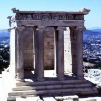 Restanten van de Tempel van Athena-Nikè