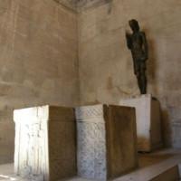 Binnen in de Tempel van Jupiter