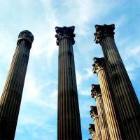 Zuilen van de Templo Romano