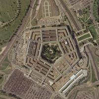 Luchtfoto van het Pentagon