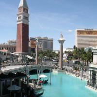 Zicht op The Venetian