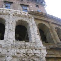 Detail van het Theater van Marcellus