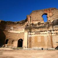 Stuk van de Thermen van Caracalla