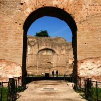 Boog in de Thermen van Caracalla