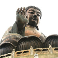Beeld van de Tian Tan Boeddha