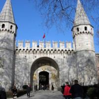 Torens aan het Topkapı Paleis