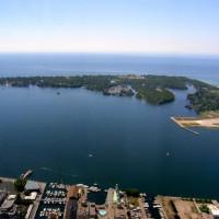 Natuur op de Toronto Islands