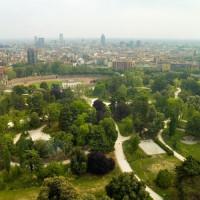 Zicht op Milaan