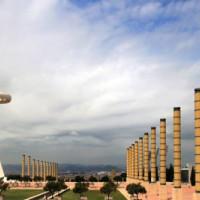 Vergezicht op de Torre Telefonica