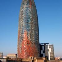Totaalbeeld van de Torre Agbar
