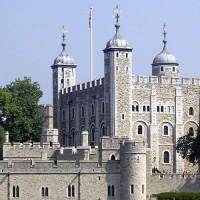 Zicht op de Tower of Londen