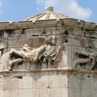 Detail van de Toren der Winden