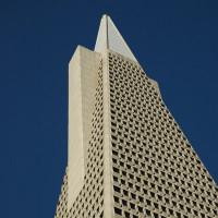 Top van het Transamerica Pyramid Building
