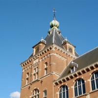Het dak van het Tropenmuseum