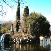Meer in het Parque de El Capricho