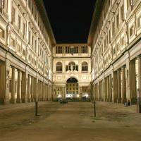 Museum bij nacht